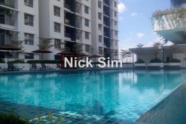 For Rent Condominium at Ivory Residence, Kajang Leasehold Semi Furnished 3R/2B 950translationmissing:en.pricing.unit