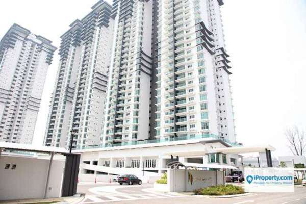 For Rent Condominium at Kiara Residence 2, Bukit Jalil Leasehold Semi Furnished 3R/2B 2.5k