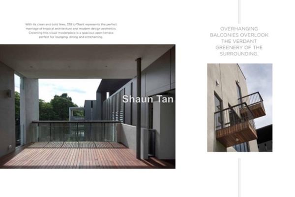 For Sale Villa at Taman U-Thant, Ampang Hilir Leasehold Semi Furnished 4R/6B 8.3m