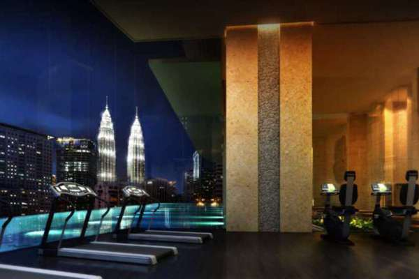 For Rent Condominium at Banyan Tree, KLCC Leasehold Semi Furnished 1R/2B 9k