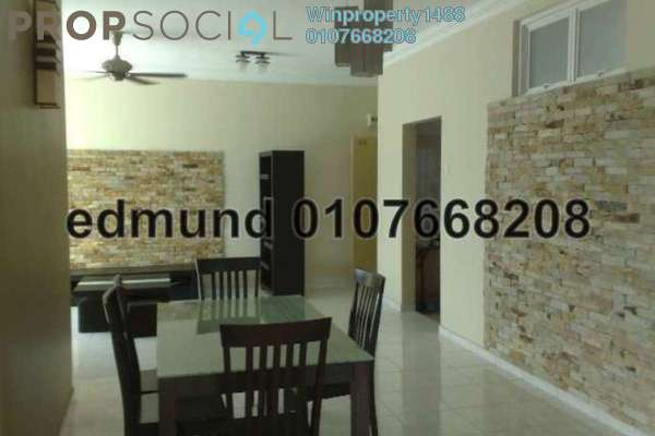 For Rent Condominium at Desa Impiana, Puchong Freehold Semi Furnished 3R/2B 1.2k