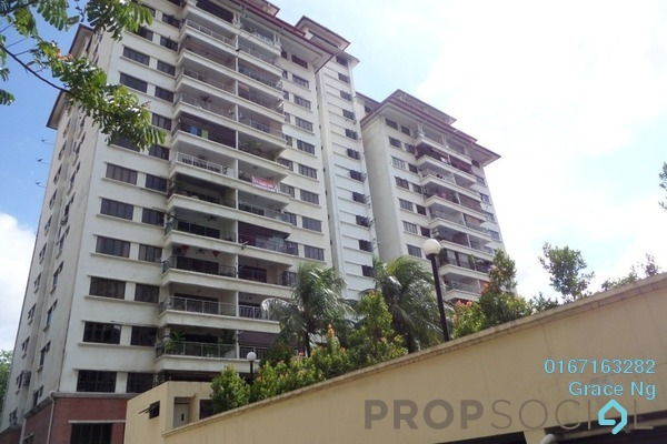 For Rent Condominium at Menara Duta 1, Dutamas Freehold Fully Furnished 3R/2B 2k