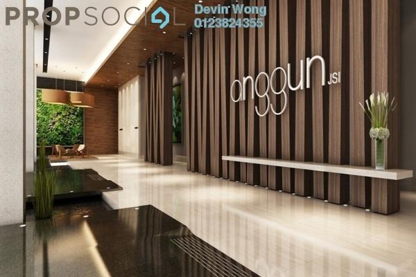 For Sale Serviced Residence at Anggun Residences, Dang Wangi Freehold Semi Furnished 1R/1B 960k