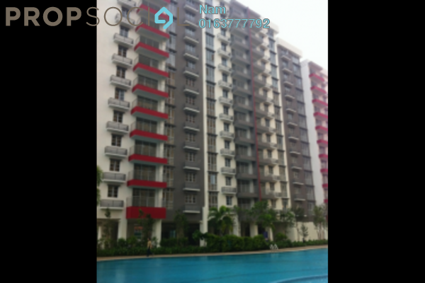 For Rent Condominium at K Boulevard, Puchong Leasehold Fully Furnished 3R/2B 1.6k