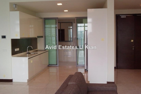 For Rent Condominium at Hampshire Residences, KLCC Leasehold Semi Furnished 4R/3B 12k