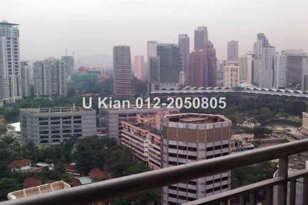 For Sale Condominium at Hampshire Residences, KLCC Leasehold Semi Furnished 4R/3B 2.4m