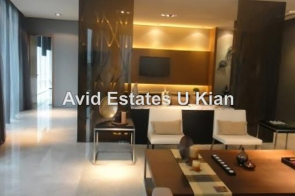 For Sale Condominium at The Oval, KLCC Leasehold Semi Furnished 3R/4B 4.13m