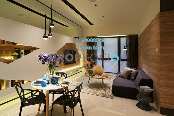 For Rent Serviced Residence at Icon Residenz, Petaling Jaya Leasehold Semi Furnished 2R/1B 2k