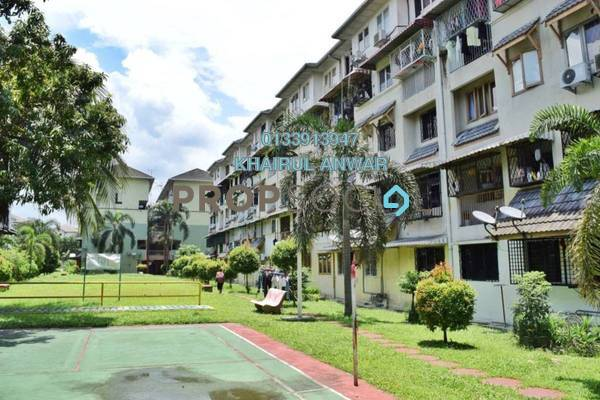For Sale Apartment at Dahlia Apartment, Pandan Indah Leasehold Unfurnished 3R/2B 288k