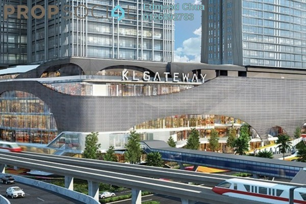 For Rent Office at KL Gateway, Bangsar South Leasehold Semi Furnished 0R/0B 16k