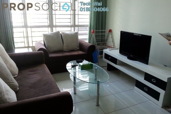 For Rent Condominium at e-Tiara, Subang Jaya Freehold Fully Furnished 2R/2B 2.2k