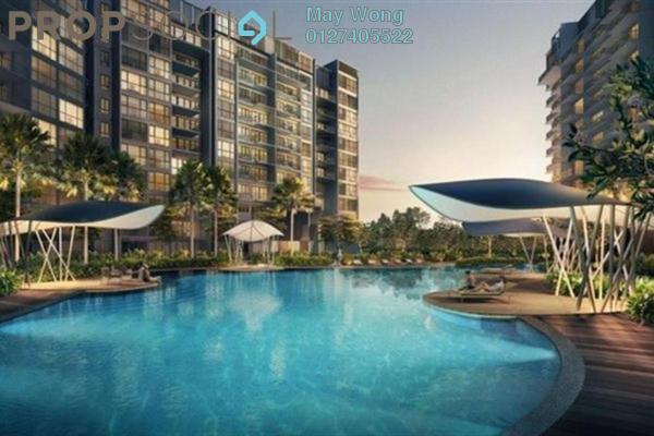 For Sale Condominium at New Green Park, Rawang Freehold Fully Furnished 2R/1B 648k