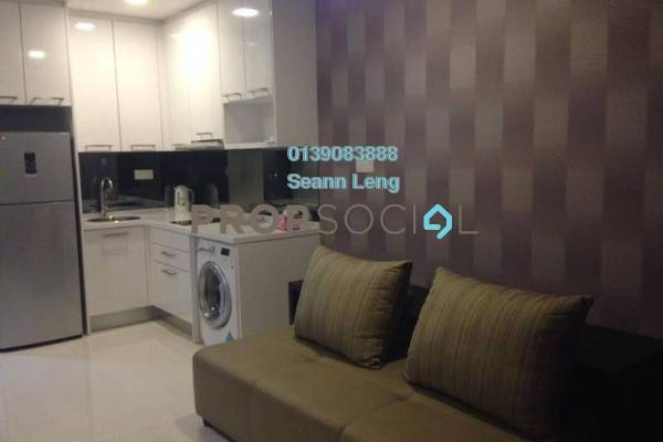 For Rent Condominium at Summer Suites, KLCC Leasehold Fully Furnished 0R/1B 2.35k