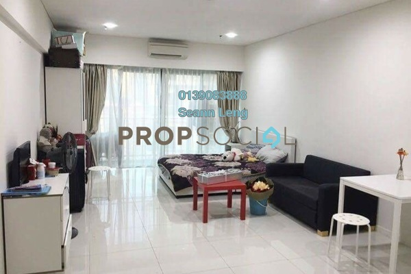 For Rent Condominium at Summer Suites, KLCC Leasehold Fully Furnished 0R/1B 2.2k