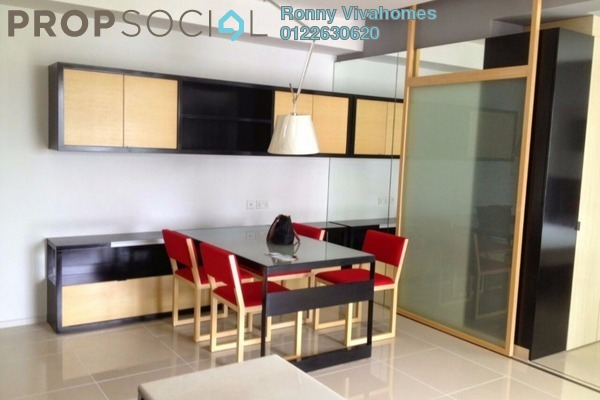 For Rent Condominium at VERVE Suites, Mont Kiara Freehold Fully Furnished 0R/1B 3k