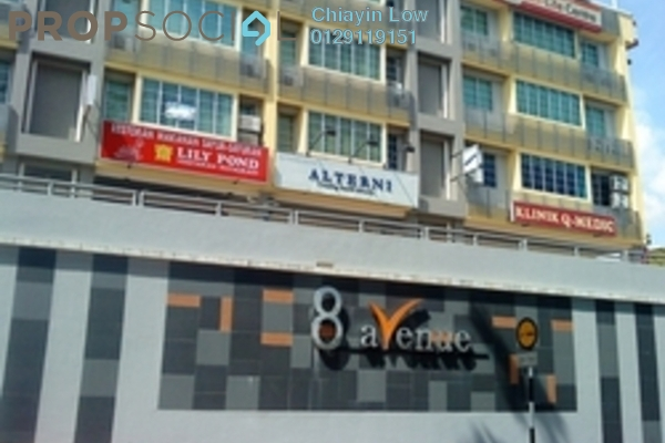 For Rent Office at 8 Avenue, Petaling Jaya Leasehold Unfurnished 2R/2B 3.3k