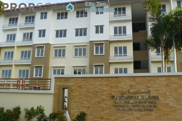 For Rent Apartment at Akasia Apartment, Pusat Bandar Puchong Freehold Unfurnished 3R/2B 800translationmissing:en.pricing.unit