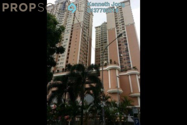 For Rent Condominium at Rhythm Avenue, UEP Subang Jaya Freehold Semi Furnished 2R/1B 1.2k