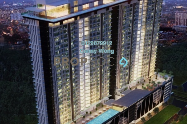 For Sale Condominium at One Residences, Sungai Besi Leasehold Semi Furnished 2R/2B 600k