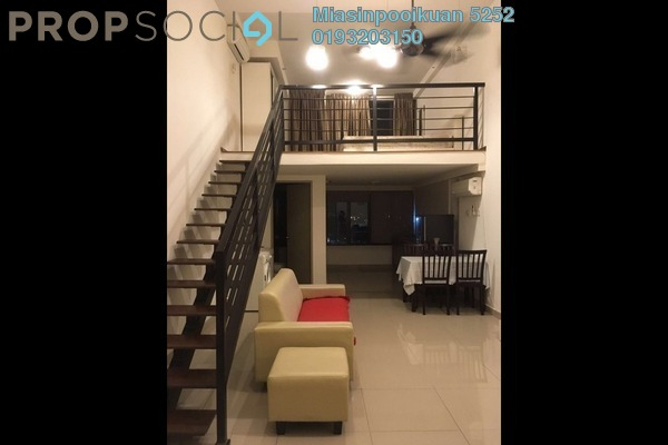 For Rent Serviced Residence at Subang SoHo, Subang Jaya Freehold Fully Furnished 1R/1B 1.5k