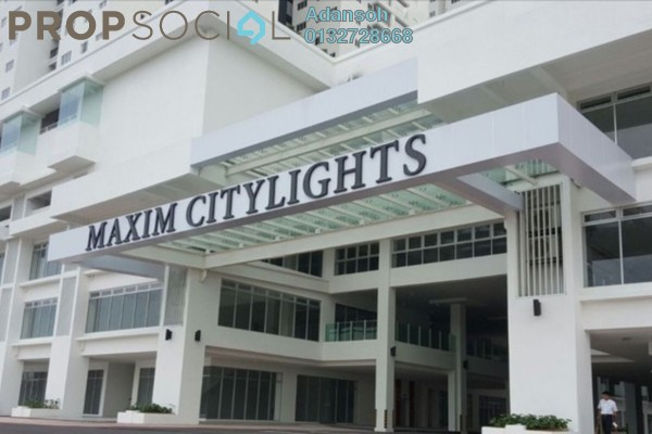 For Rent Shop at Maxim Citilights, Sentul Leasehold Unfurnished 1R/2B 5.5k