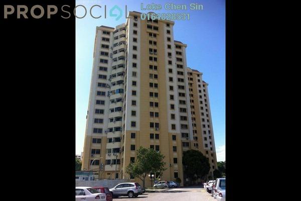 For Rent Apartment at Tiara View, Tanjung Bungah Freehold Semi Furnished 3R/2B 1.1k