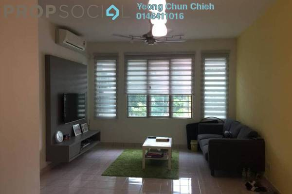 For Rent Condominium at De Rozelle, Kota Damansara Leasehold Fully Furnished 3R/2B 1.8k