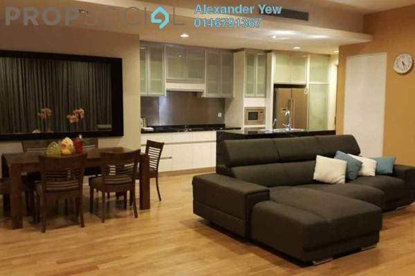 For Rent Condominium at St Mary Residences, KLCC Freehold Fully Furnished 2R/3B 6.5k