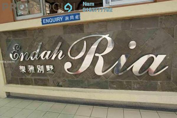 For Rent Condominium at Endah Ria, Sri Petaling Leasehold Fully Furnished 3R/2B 1.7k