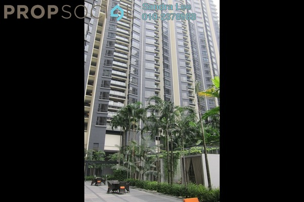 For Sale Condominium at St Mary Residences, KLCC Freehold Semi Furnished 3R/2B 5.73m