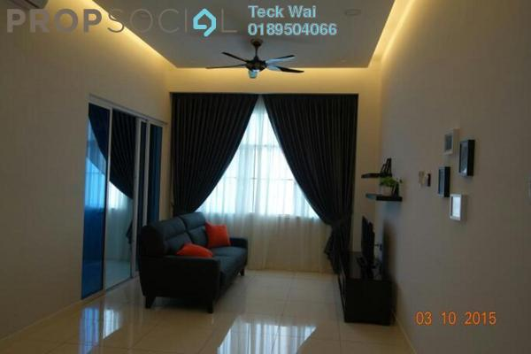 For Rent Condominium at Skypod, Bandar Puchong Jaya Freehold Fully Furnished 1R/1B 1.5k