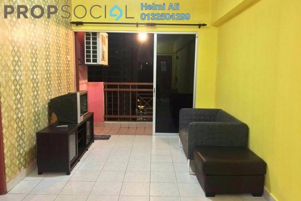 For Sale Condominium at Pelangi Damansara, Bandar Utama Leasehold Semi Furnished 3R/2B 360k