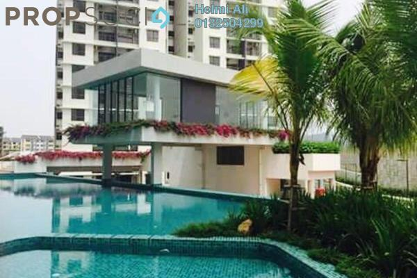 For Sale Condominium at Ivory Residence, Kajang Freehold Semi Furnished 3R/2B 420k