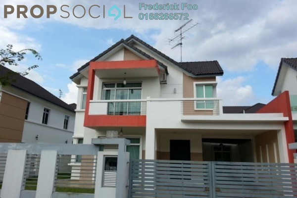 For Rent Semi-Detached at Nusa Duta, Iskandar Puteri (Nusajaya) Freehold Fully Furnished 4R/4B 3k