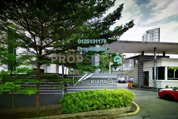 For Sale Condominium at Aston Kiara 3, Mont Kiara Freehold Fully Furnished 4R/3B 732k