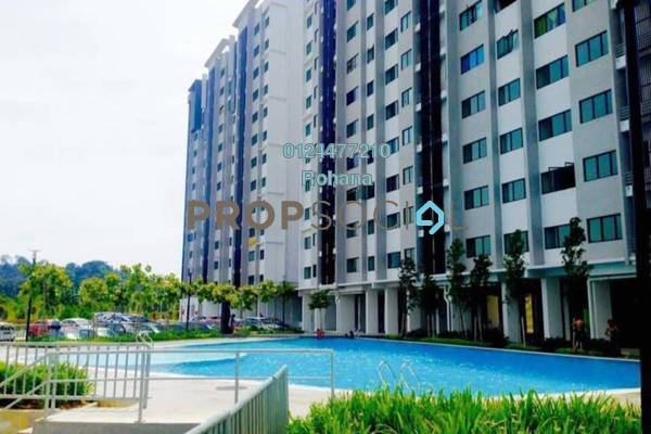 For Sale Apartment at Suria Ixora, Setia Alam Freehold Unfurnished 3R/2B 280k