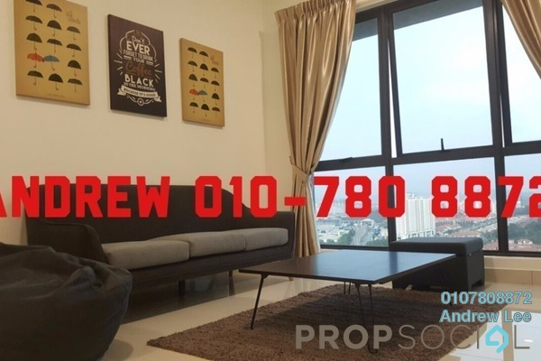 For Rent Condominium at 8 Kinrara, Bandar Kinrara Freehold Semi Furnished 1R/1B 2k