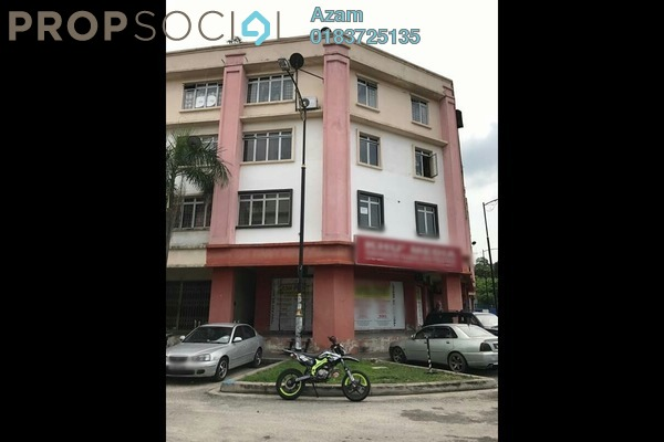 For Rent Apartment at Saujana Damansara, Damansara Damai Leasehold Semi Furnished 4R/1B 1k