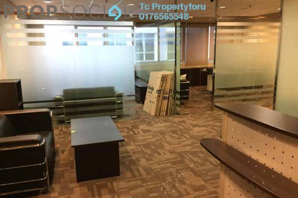 For Rent Office at Solaris Dutamas, Dutamas Freehold Fully Furnished 0R/0B 3.6k