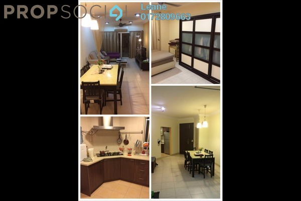 For Sale Condominium at Desa Putra, Wangsa Maju Leasehold Fully Furnished 3R/2B 700k