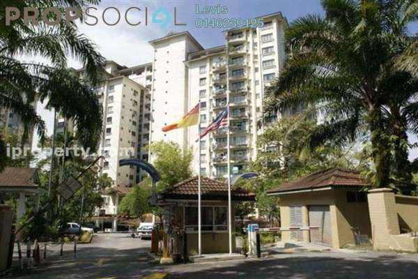For Rent Condominium at Emerald Hill, Ampang Leasehold Semi Furnished 3R/2B 1.6k