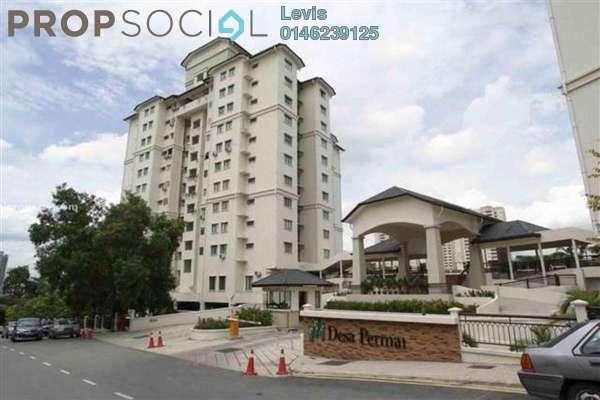 For Rent Condominium at Desa Permai, Taman Desa Freehold Fully Furnished 3R/2B 1.9k