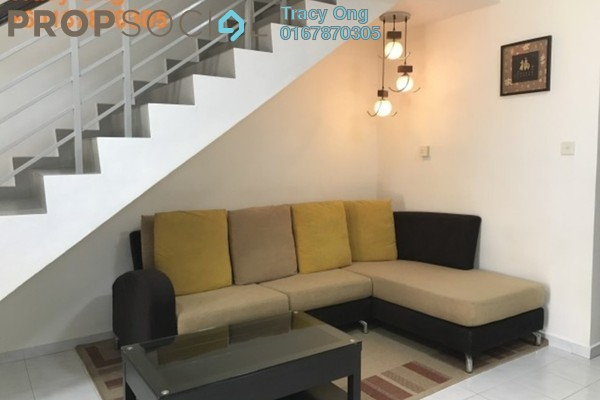 For Rent Terrace at Taman Bukit Indah, Old Klang Road Freehold Semi Furnished 3R/3B 1.6k
