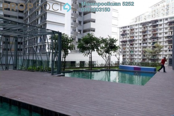For Rent Serviced Residence at KL Gateway, Bangsar South Leasehold Fully Furnished 0R/1B 2.1k
