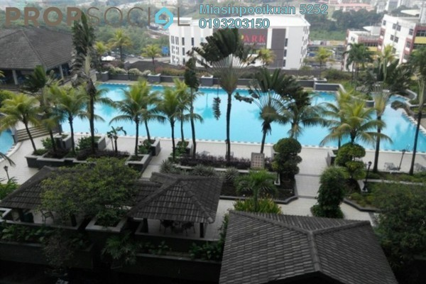 For Rent Condominium at Amadesa, Desa Petaling Leasehold Semi Furnished 4R/2B 1.4k