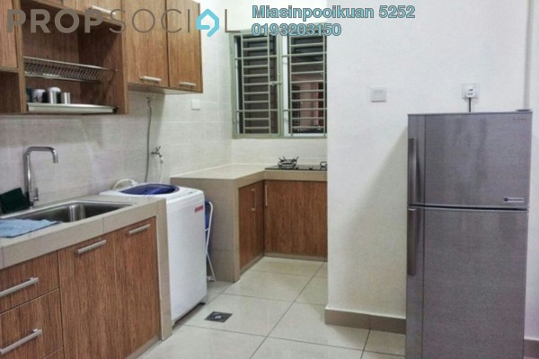 For Rent Apartment at Impian Meridian, UEP Subang Jaya Freehold Fully Furnished 3R/2B 1.7k