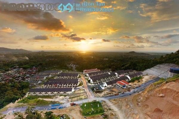 For Sale Terrace at Taman Titi Heights, Balik Pulau Freehold Unfurnished 4R/4B 748k