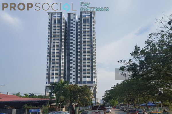 For Rent Condominium at DeSkye Residence, Jalan Ipoh Freehold Semi Furnished 3R/2B 2.2k