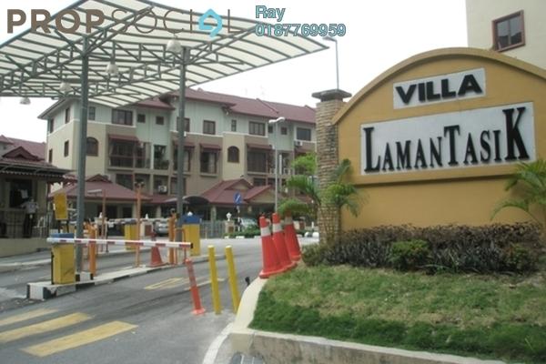 For Rent Condominium at Villa Laman Tasik, Bandar Sri Permaisuri Leasehold Semi Furnished 4R/3B 1.7k