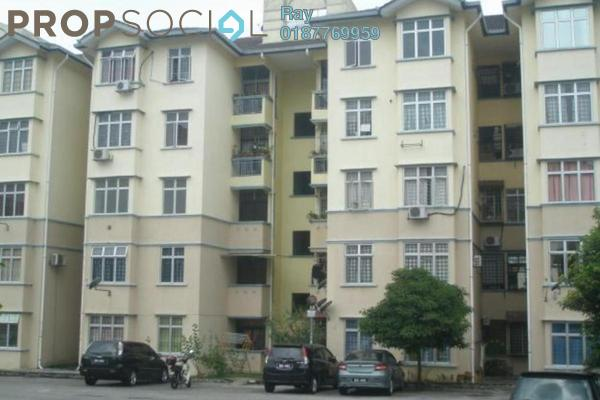For Rent Apartment at Sri Kayangan Apartment, Ukay Leasehold Unfurnished 3R/2B 900translationmissing:en.pricing.unit